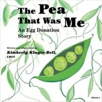 The Pea that was Me: An Egg-Donation Story (Volume 1)
